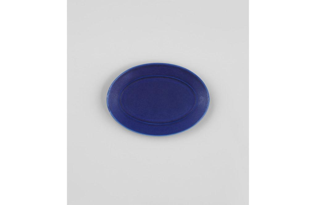 宮木英至さんのオーバル皿