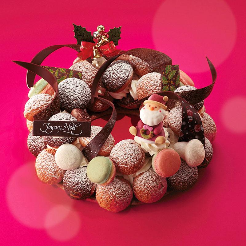 マカロンづくしのクリスマスケーキ、正体は意外な名店