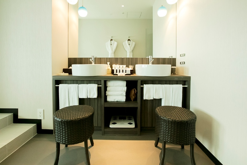5タイプある新客室。那覇港を臨