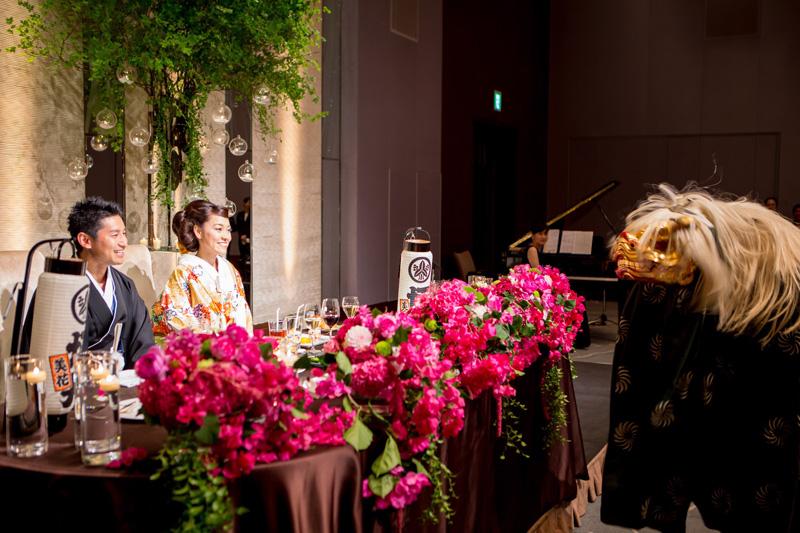 海外生活から実感した日本の良さを結婚式で堪能