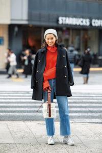 田中彩子さんのコートは、最愛ブ