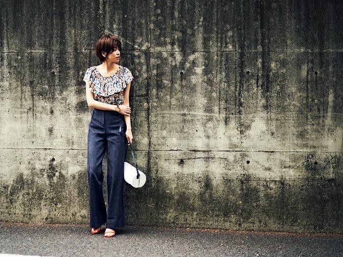 """スタイリスト荒木さん直伝、カッコよく着る""""大人の花柄"""""""