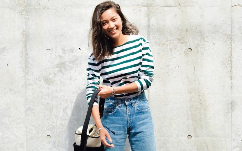 田中彩子さんが今夏履くのは切りっぱなし&デザインデニム