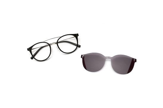 1本のメガネが一瞬でサングラス