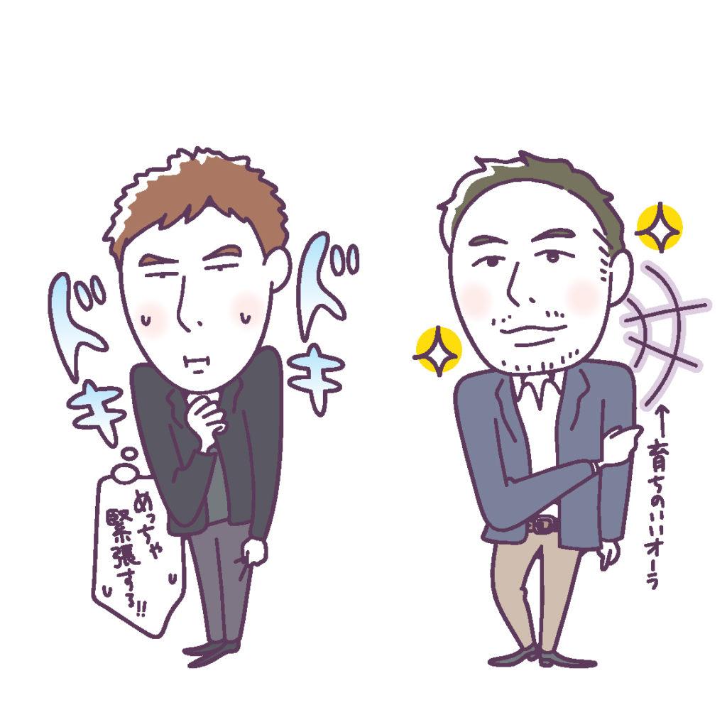 右 Gさん 32歳・SE。新宿