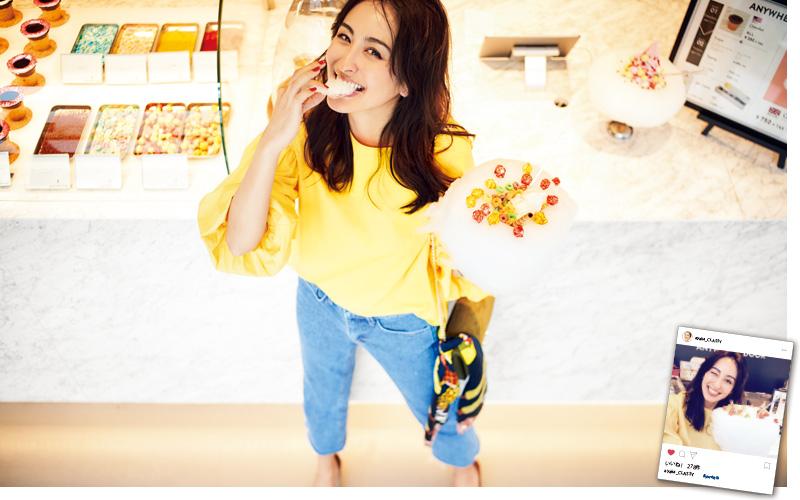 【9/3】原宿で大人気のコットン キャンディーアイスへ! 可愛すぎて食べるのが もったいないくらい!