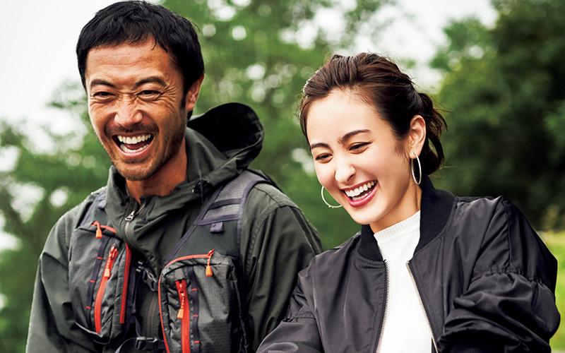 【9/23】初めての川釣り!ガクさんのおかげでヤマメが釣れた〜!色々リードしてくれて頼もしい♥