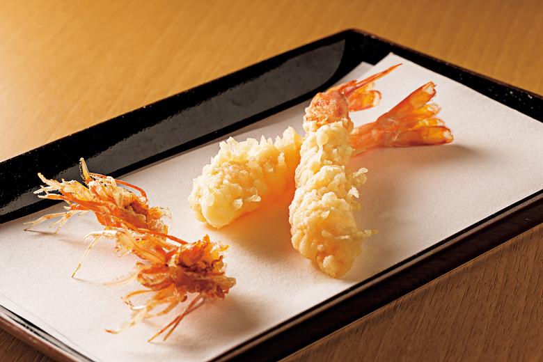 カジュアルに天ぷらを楽しめる学