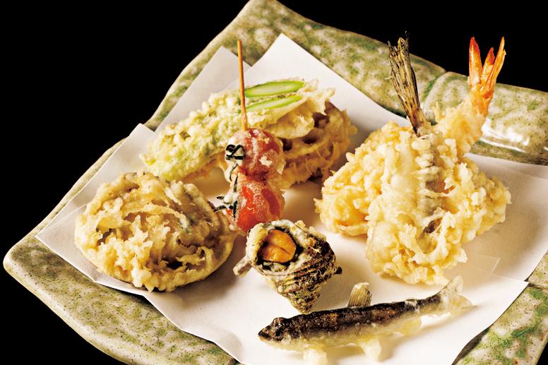 天ぷらを「お腹がもたれて・・・