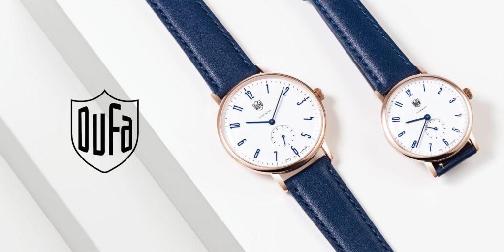 ドイツの腕時計ブランド「DUF
