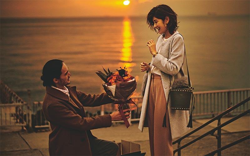 【1/31のコーデ】「16時に美浜大橋に来て」そこにはいつもとは違う、スーツ姿の健太郎が。
