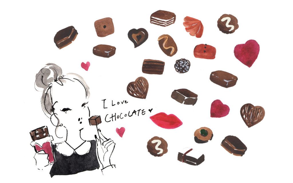誰かに話したくなる! チョコ美容