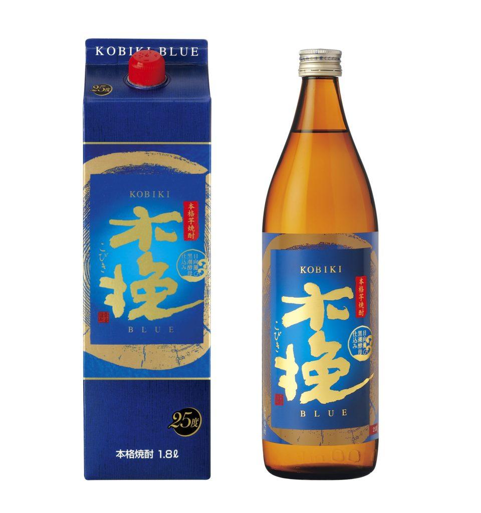 酵母が生み出す、すっきり芋焼酎 「木挽BLUE(こびきブルー)」好評発売中!