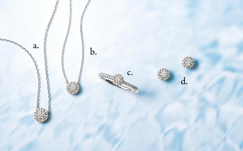 a. ダイヤモンドのしずくが滴