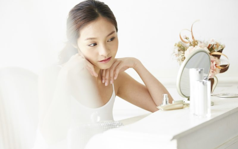 (5)美人だと自覚している女性