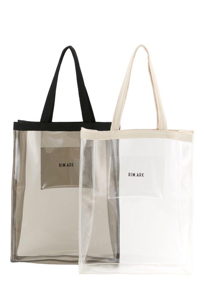 大流行のPVCバッグがノベルティでもらえるなんて!