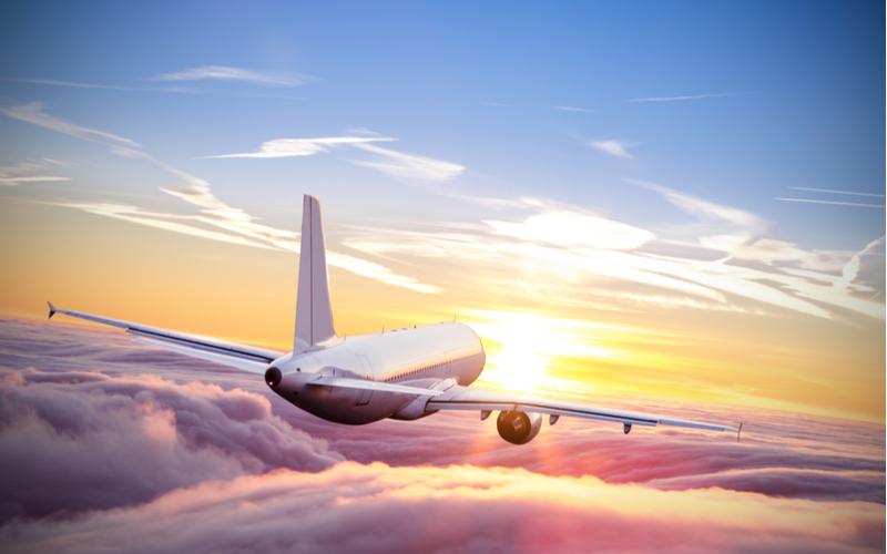 ■飛行機でのマナー