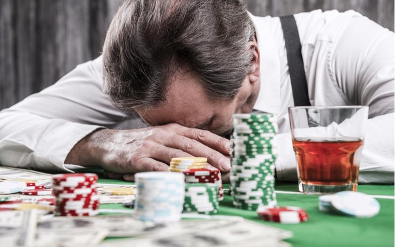 (2)貯金ができないギャンブル好き男