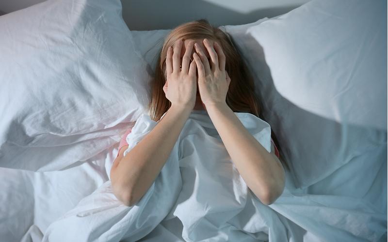 (5)「なんだか眠れないんだよね」