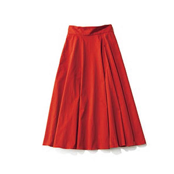 【10】キレイ色スカート 秋ら