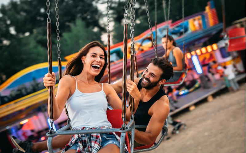 遊園地やテーマパーク