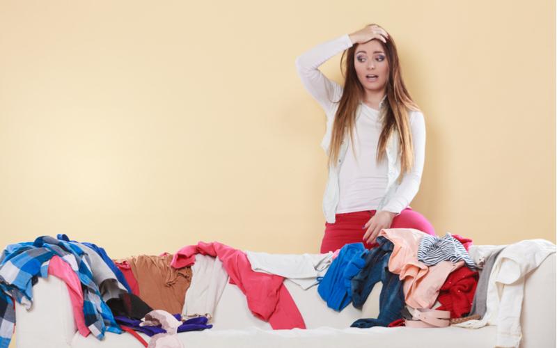 (2)掃除が嫌いで家の中が汚い