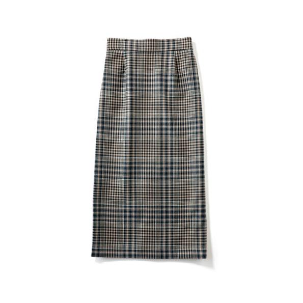【C】チェックタイトスカート