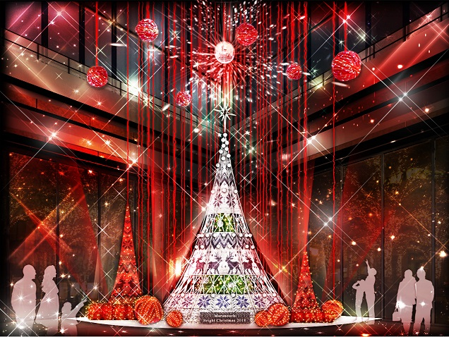 """今年の丸の内のクリスマスは""""北"""