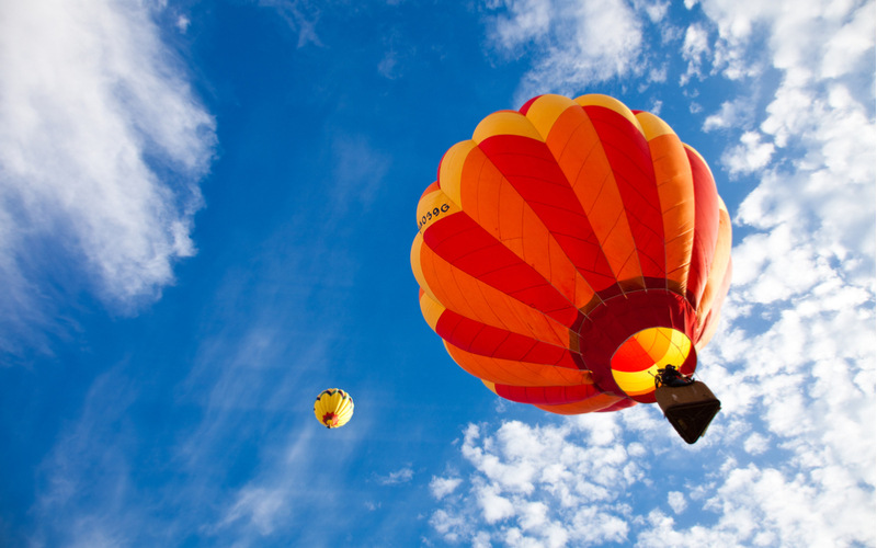 3.「熱気球」