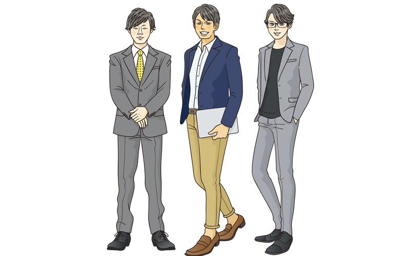 「こんな人いる!」働く男子キャラ図鑑~広告代理店編~