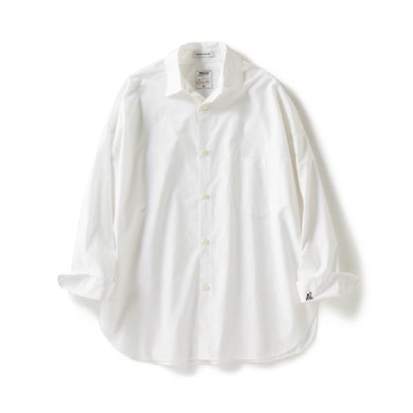 【c】白シャツ ド定番の白シャ