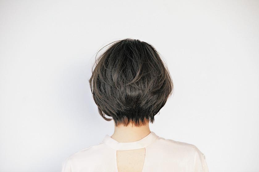 Hair recipe 衿足に