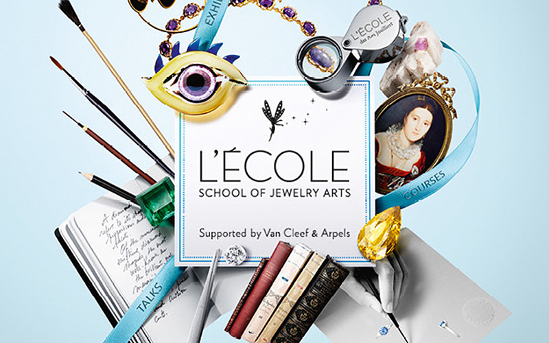めくるめく宝飾の世界について学ぶチャンス!ヴァン クリーフ&アーペルが支援するジュエリー学校「レコール」開講中
