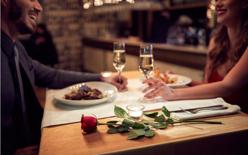 3.良いレストランでのお食事