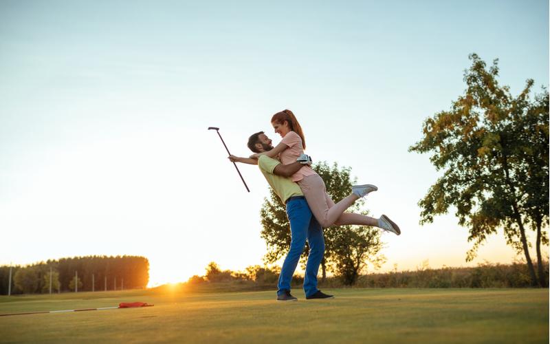 「2人ともゴルフが好きで『今年