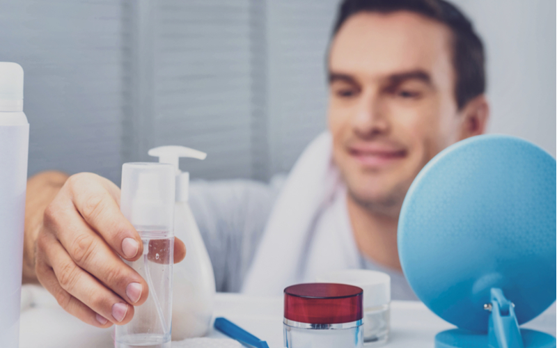 「お風呂に女性用の洗顔フォーム