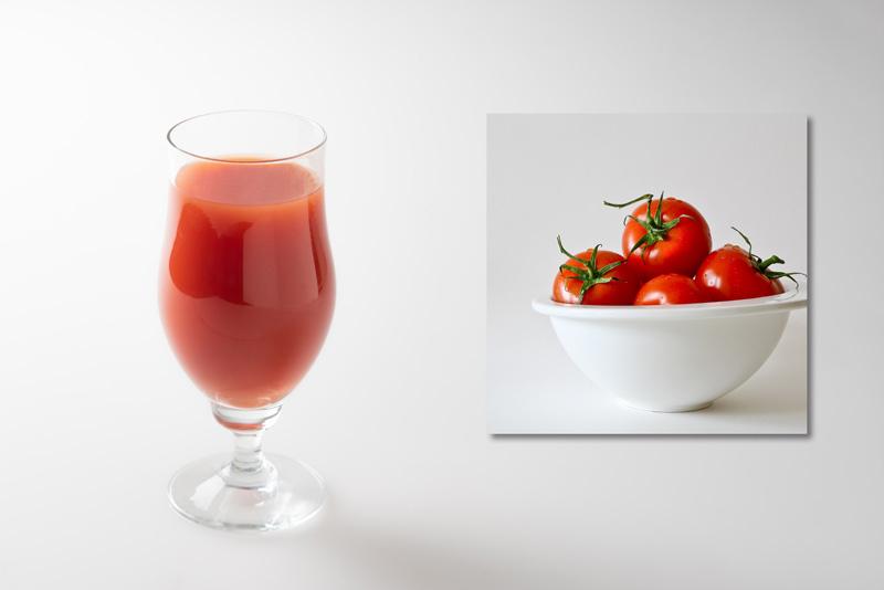 【材料】ビール:トマトジュース