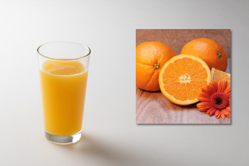 【材料】ビール:オレンジジュー