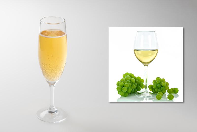 【材料】ビール:白ワイン=1: