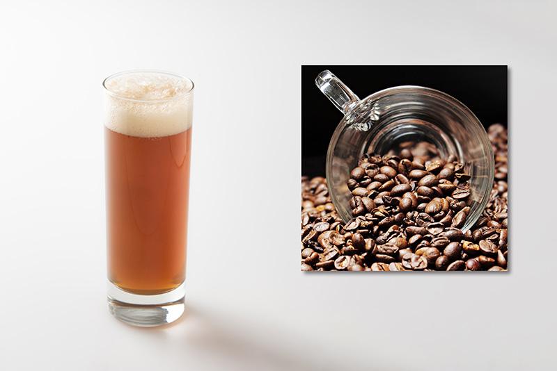 【材料】ビール:コーヒー=4: