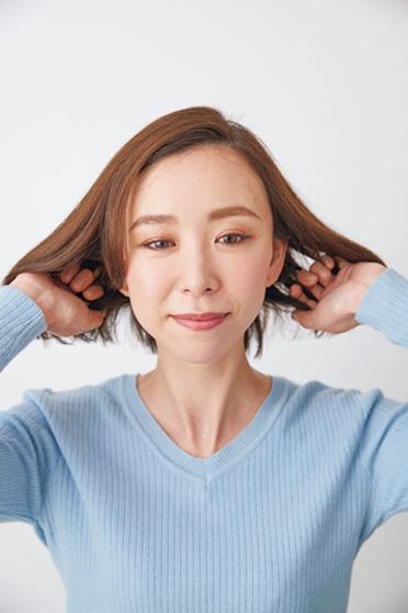 髪の悩みをコントロールしやすい