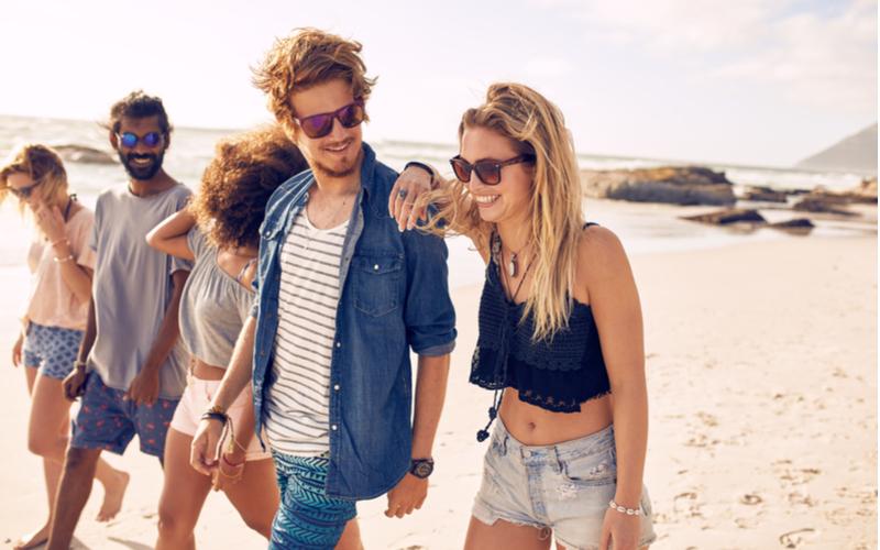 「夏は女友達と海やBBQに行く