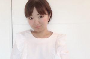 ライター角田枝里香 大学在学中