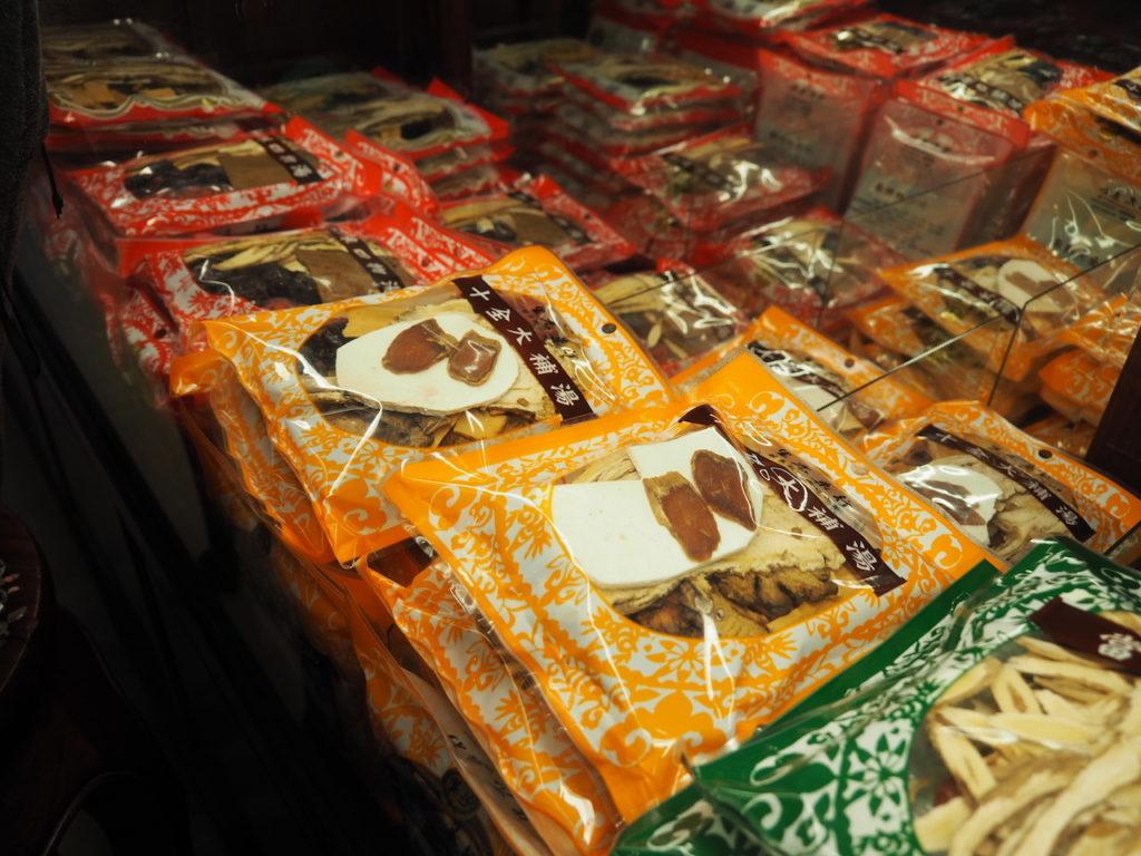 店内には他にも、一般漢方薬や料