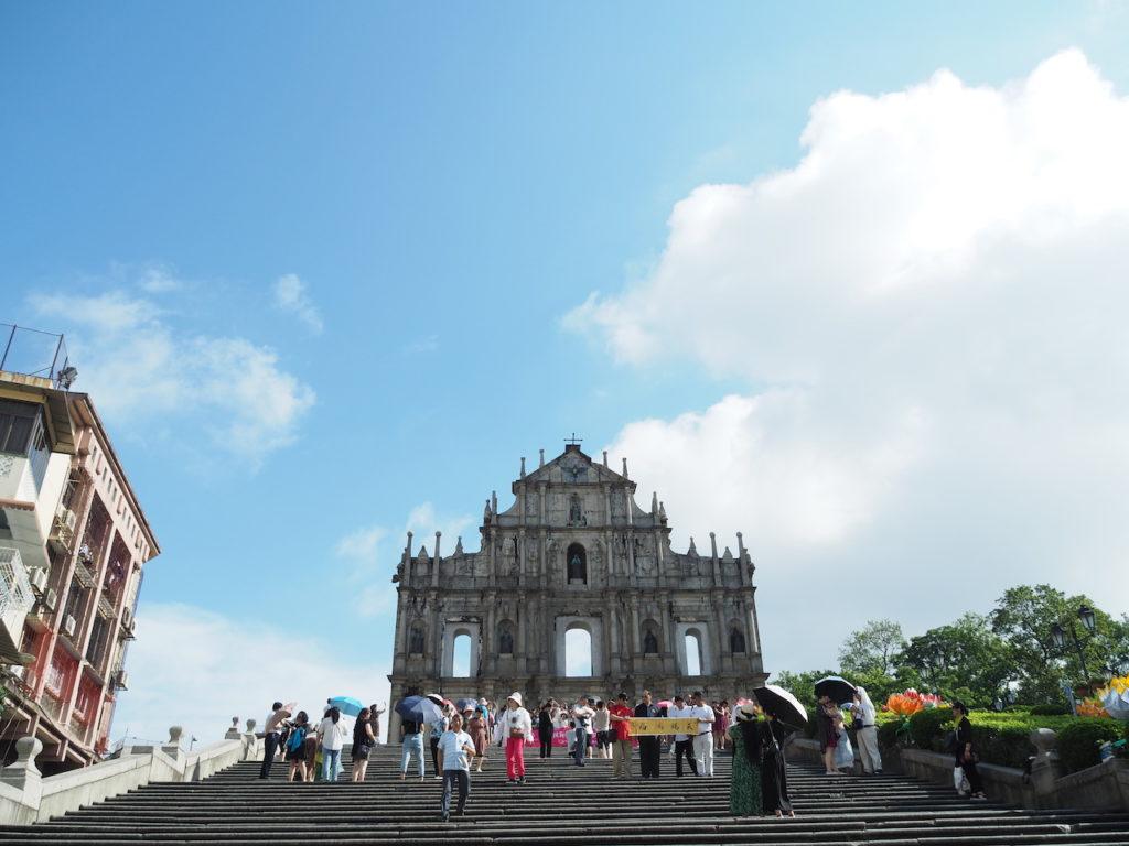 マカオで最も有名な歴史的建築物