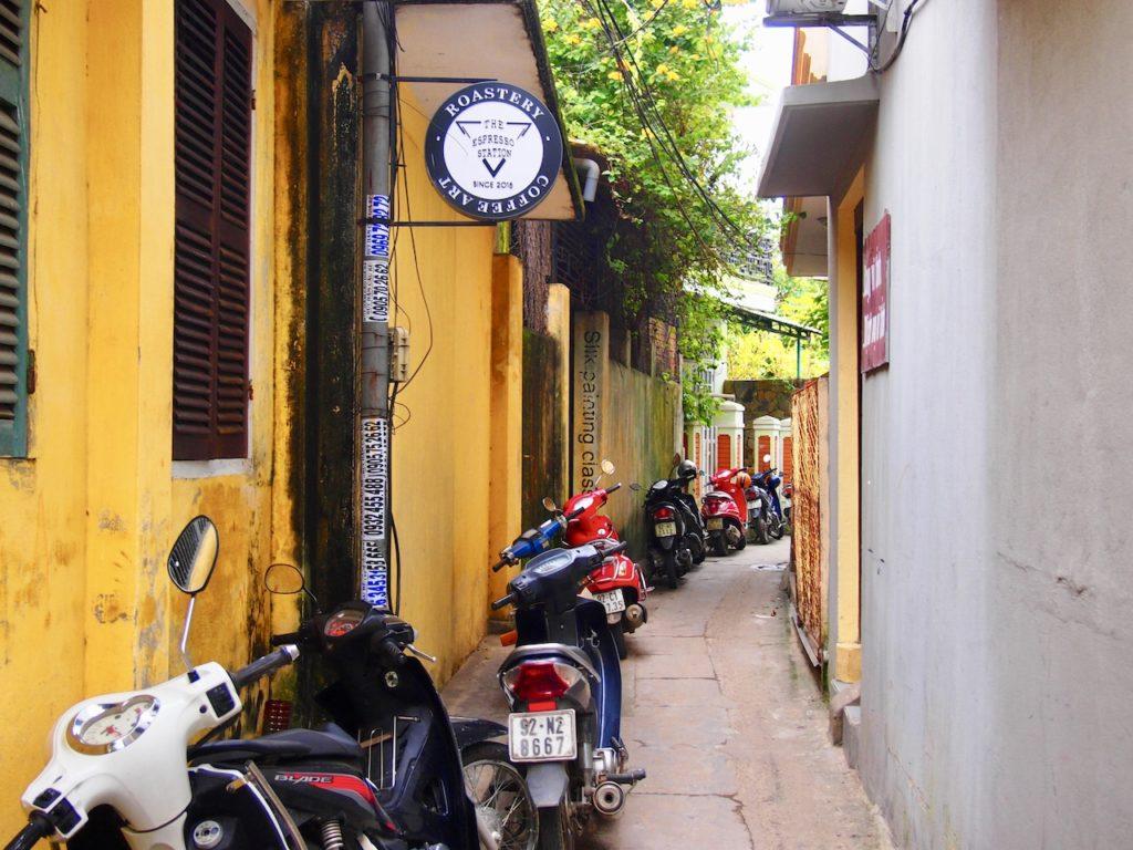 ホイアンにもベトナムコーヒーが