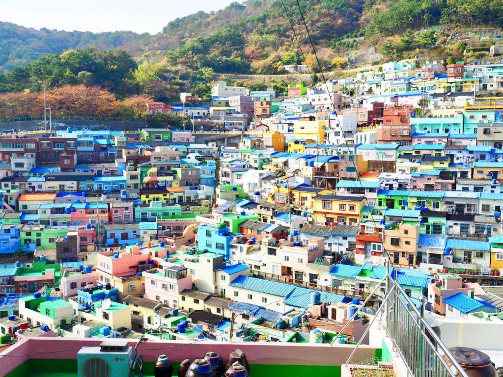 映画『HERO』の舞台、韓国の「甘川文化村」って?釜山で行きたい絶景観光スポット!