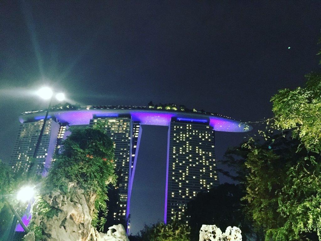 シンガポールで一番有名なホテル