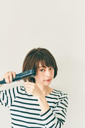 毛量の多い人は髪が横に膨らむの