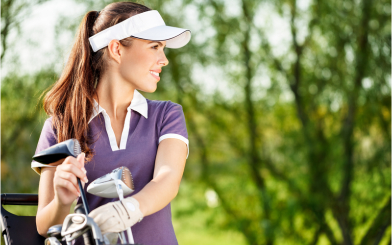 「趣味の話をしている時にゴルフ